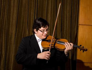 Violinista  Gustavo Barrientos
